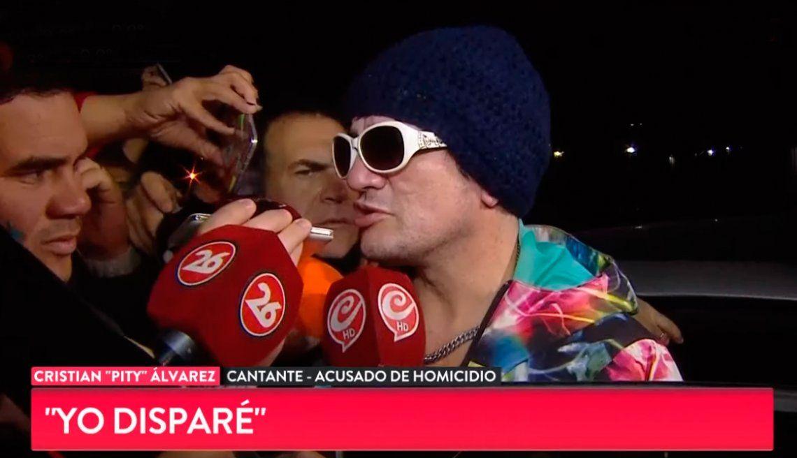 Se entregó Pity Álvarez: Lo maté porque era él o yo