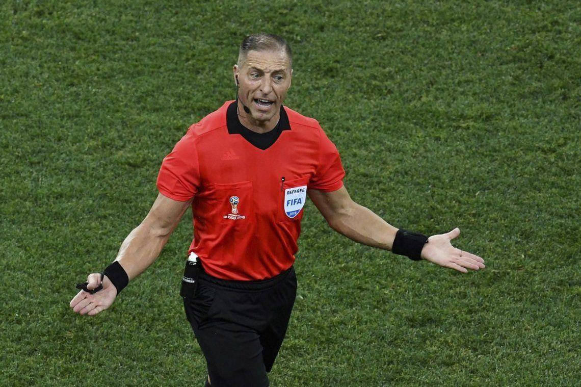 Néstor Pitana será el árbitro de la final entre Croacia y Francia