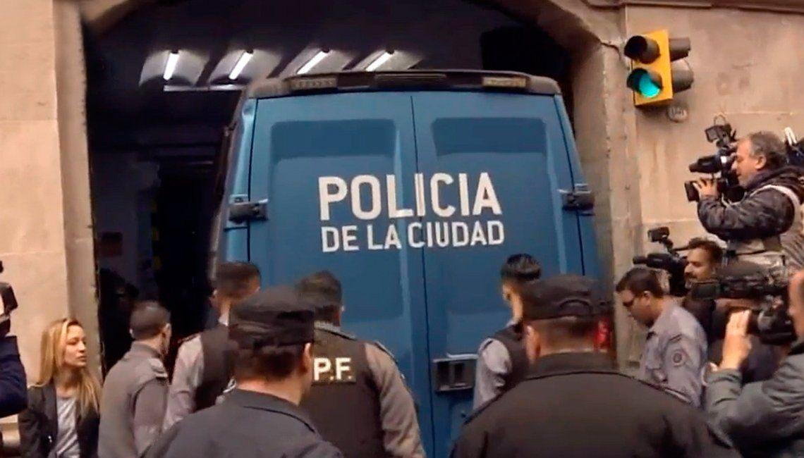 Pity Álvarez dejó la comisaría y ya está en Tribunales