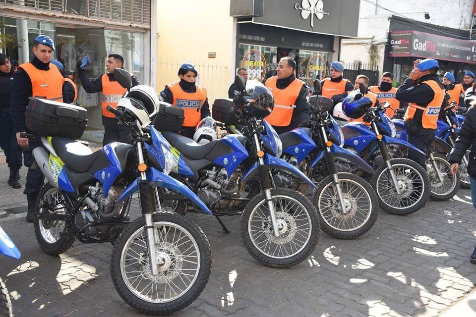 Incorporan 40 motos para patrullar corredores escolares