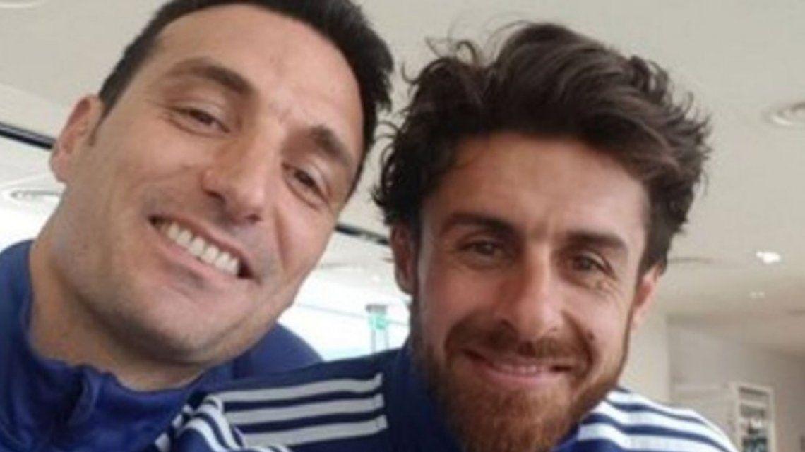 Lionel Scaloni y Pablo Aimar fueron confirmados como técnicos de la Selección