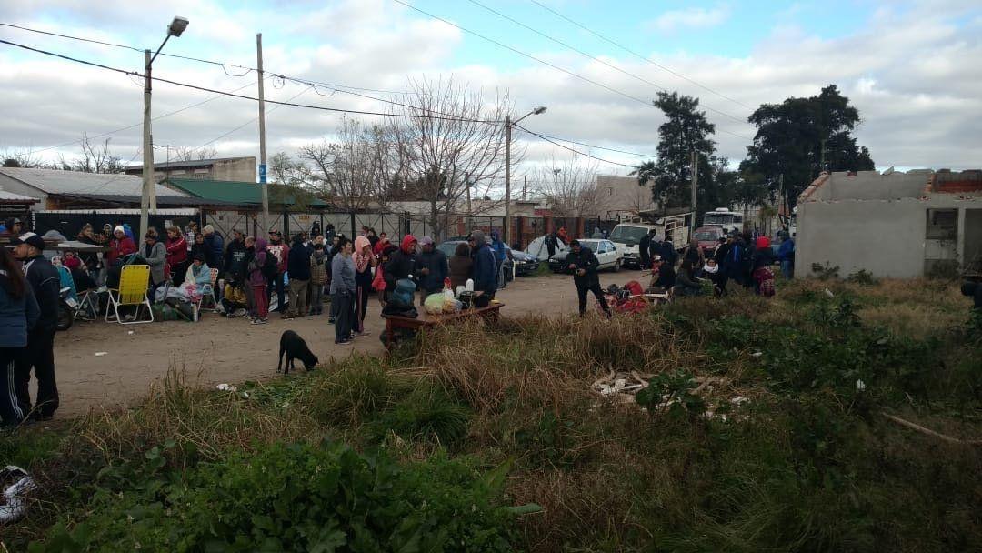 Evitaron la toma de 300 viviendas sociales abandonadas