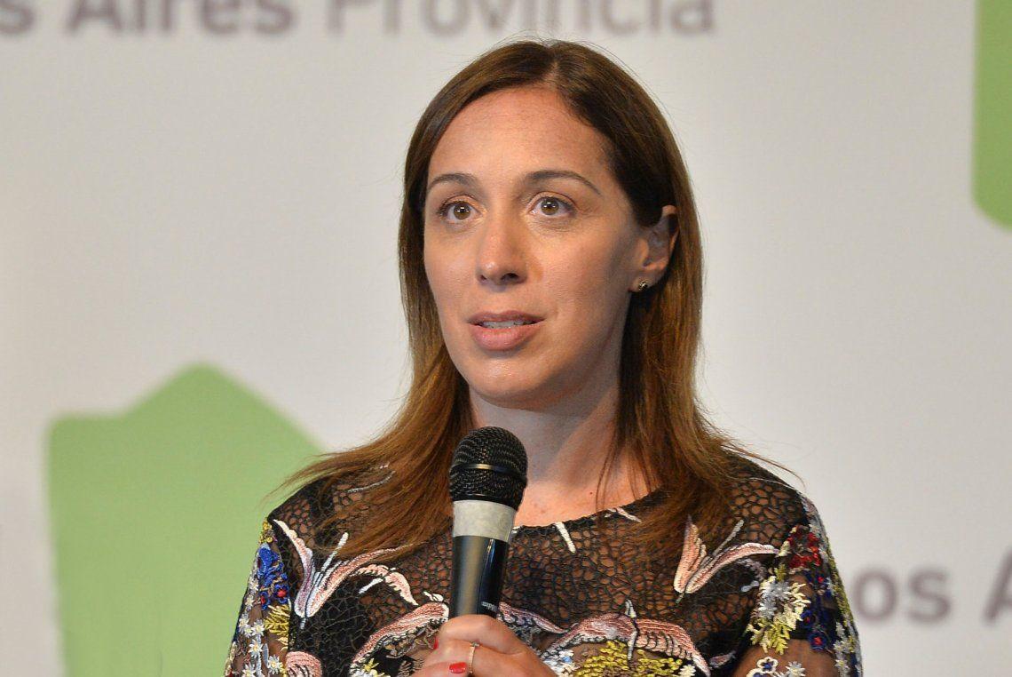 María Eugenia Vidal anunció medidas para ayudar a PyMEs