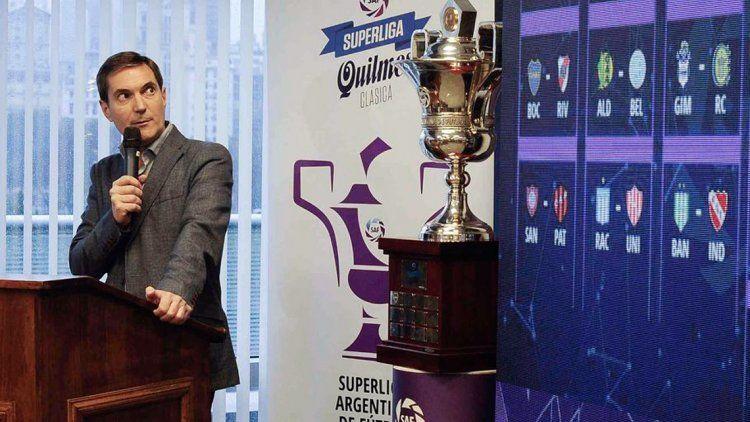 Estalló la polémica con el fixture de la Superliga
