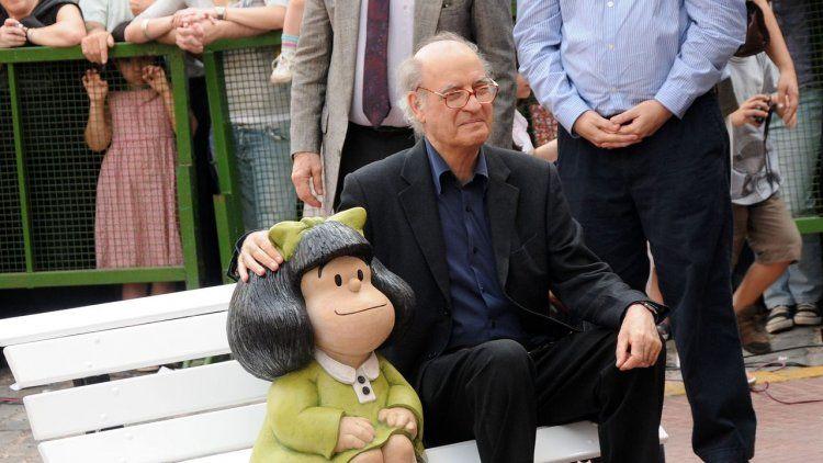 Quino desmiente que él y su Mafalda estén en contra del aborto legal