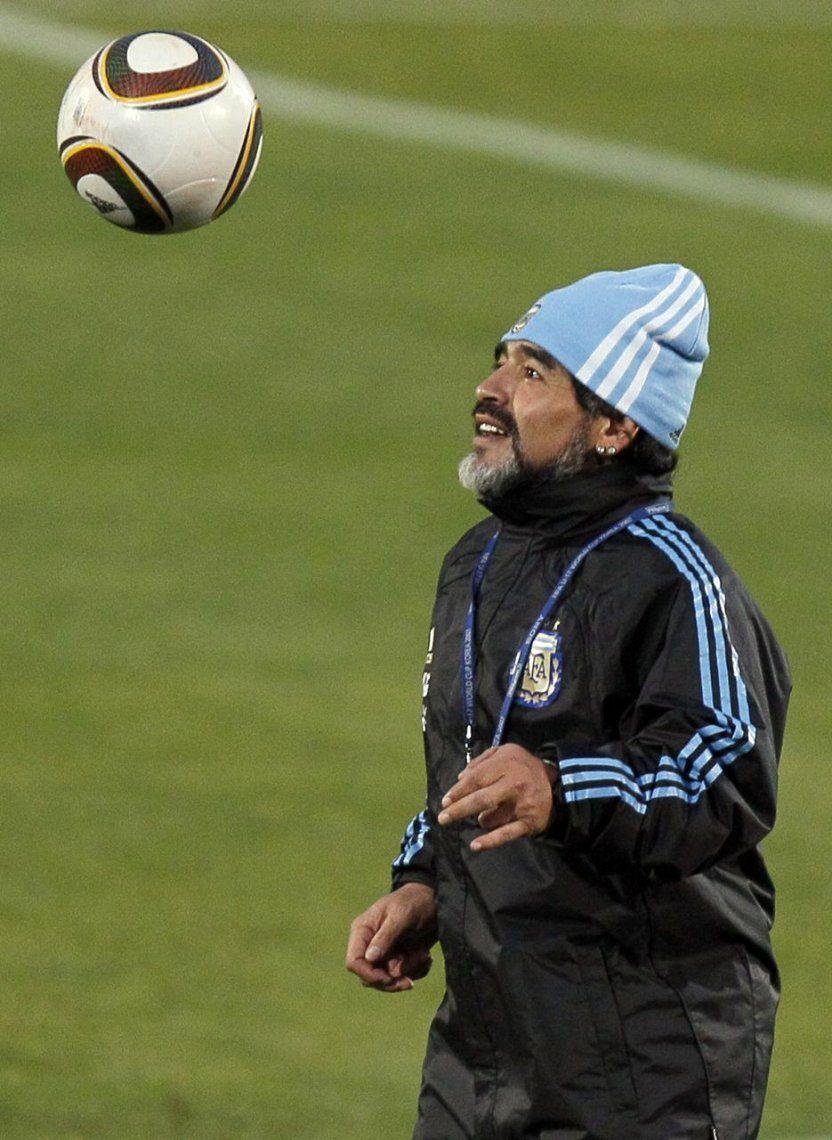 Morla sobre Maradona: Hay ideas de trabajar en conjunto entre el Dinamo y el Dorados