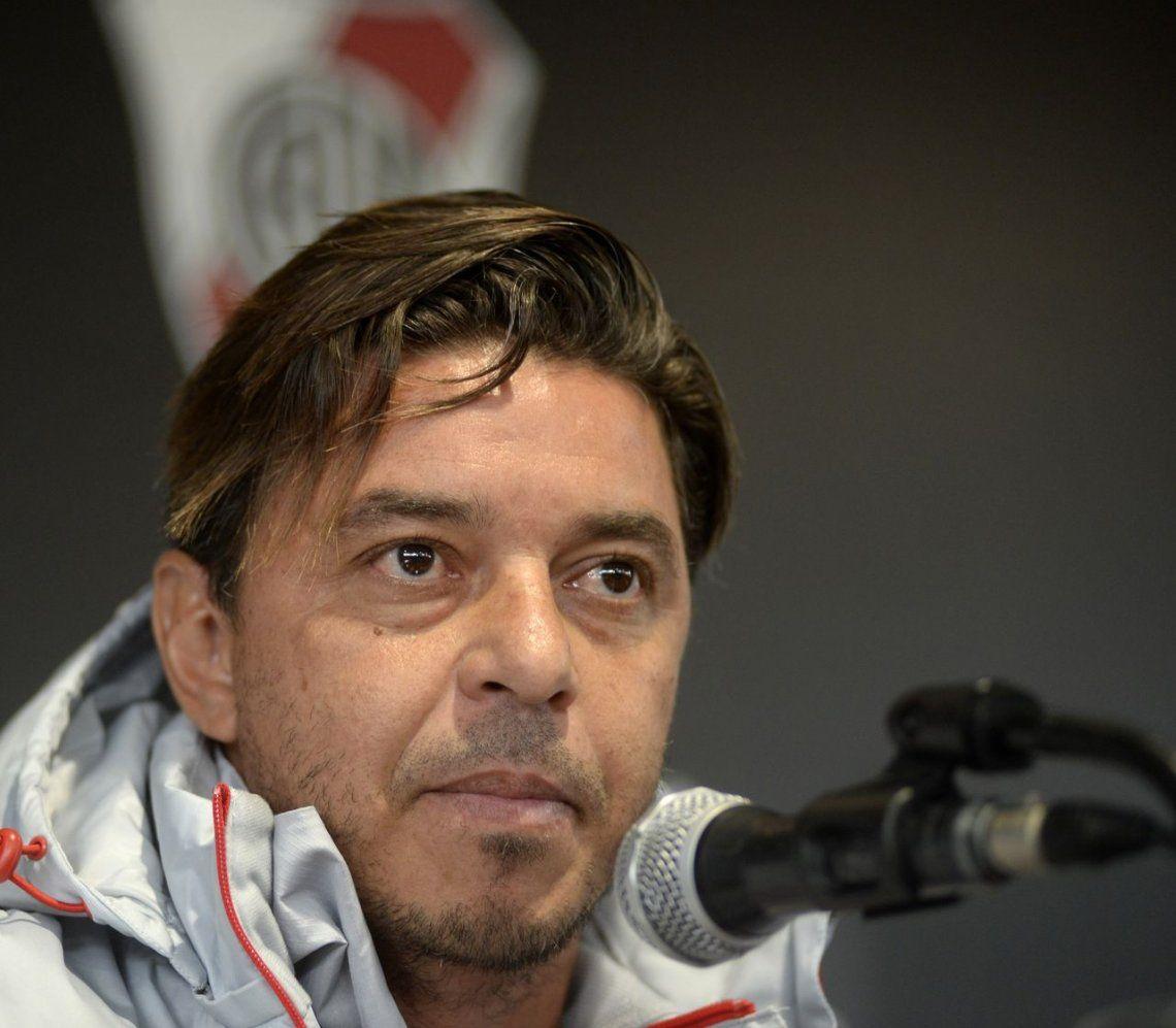 Gallardo: El partido con Racing no se definirá el jueves, sino en la revancha