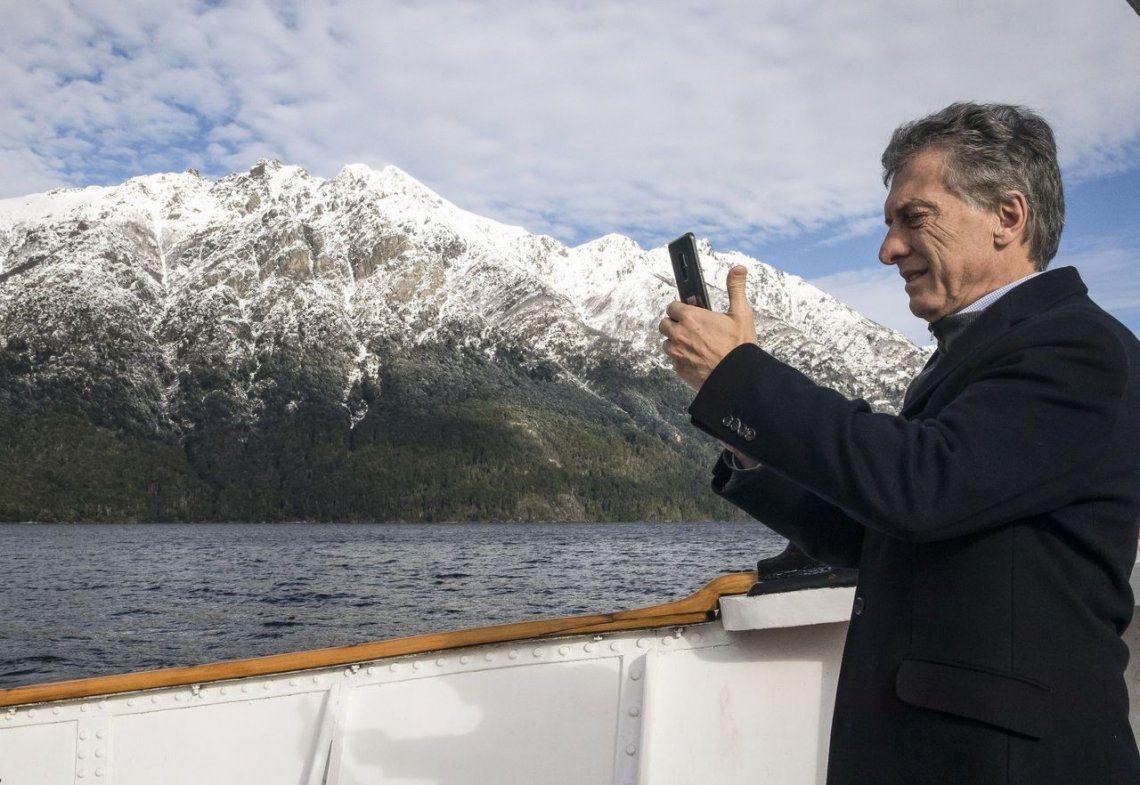 Macri en Bariloche sobre el conflicto mapuche: Nadie puede estar por encima de la ley