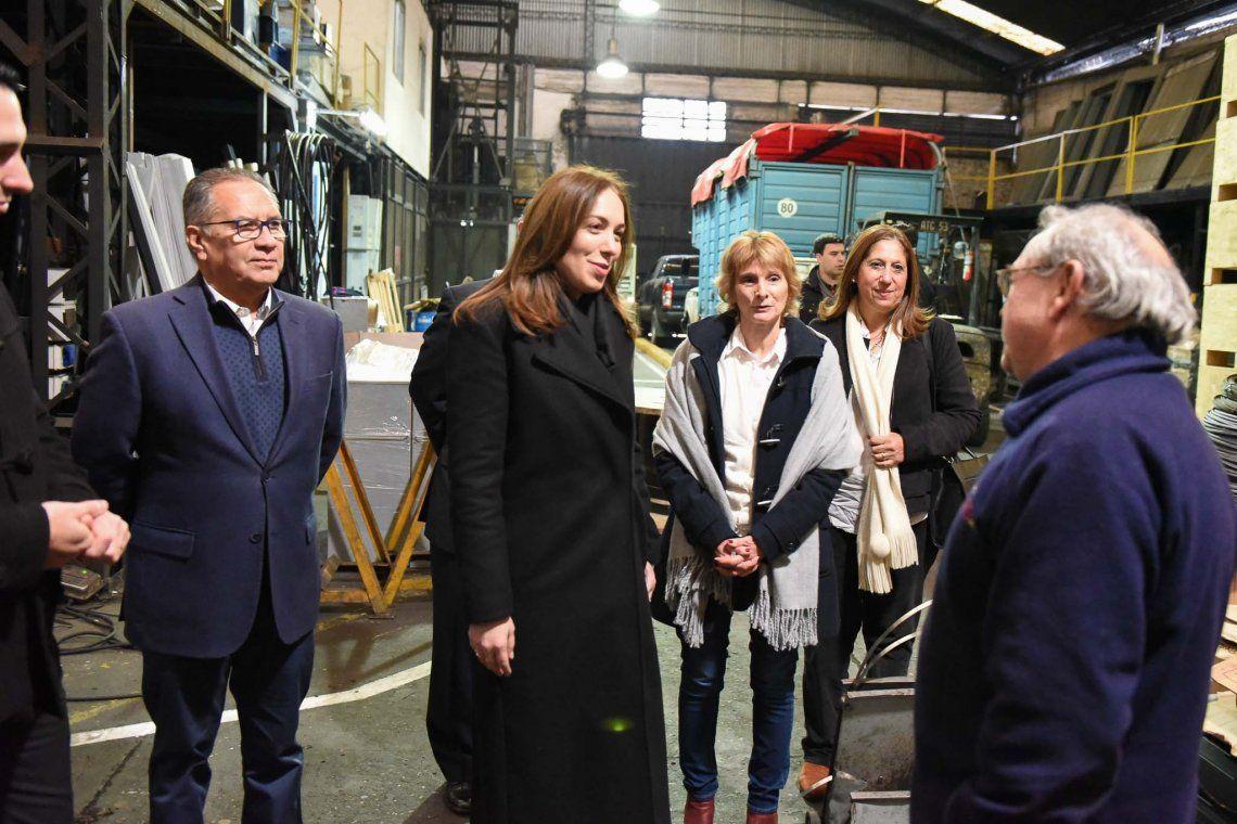 Vidal visitó Ituzaingó y recibió pedidos por el Hospital del Bicentenario
