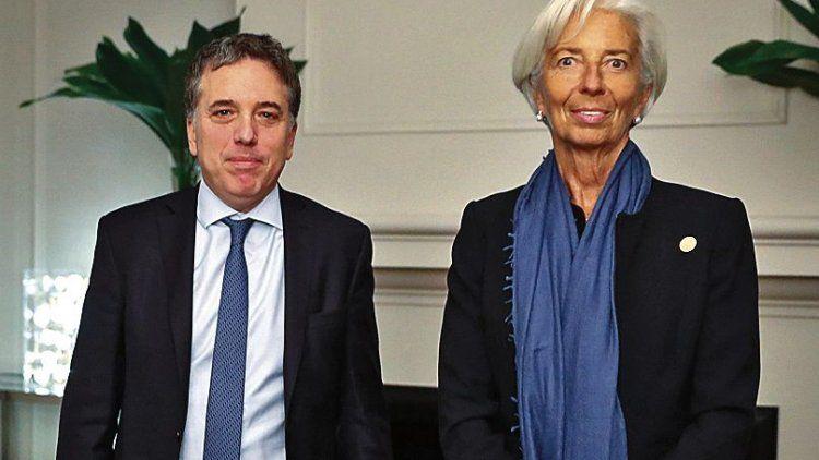 dDujovne y Lagarde darán una conferencia de prensa en el Centro de Exposiciones.