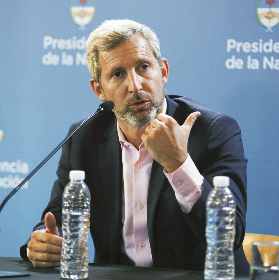 Frigerio habló sobre el aumento del gas: El gobierno está abierto a discutir medidas