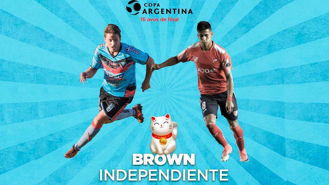 El particular pedido de Brown de Adrogué a Independiente