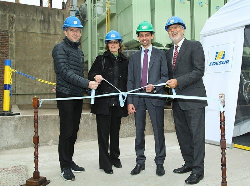Edesur repotenció la Subestación Sarandí para mejorar el servicio en Zona Sur
