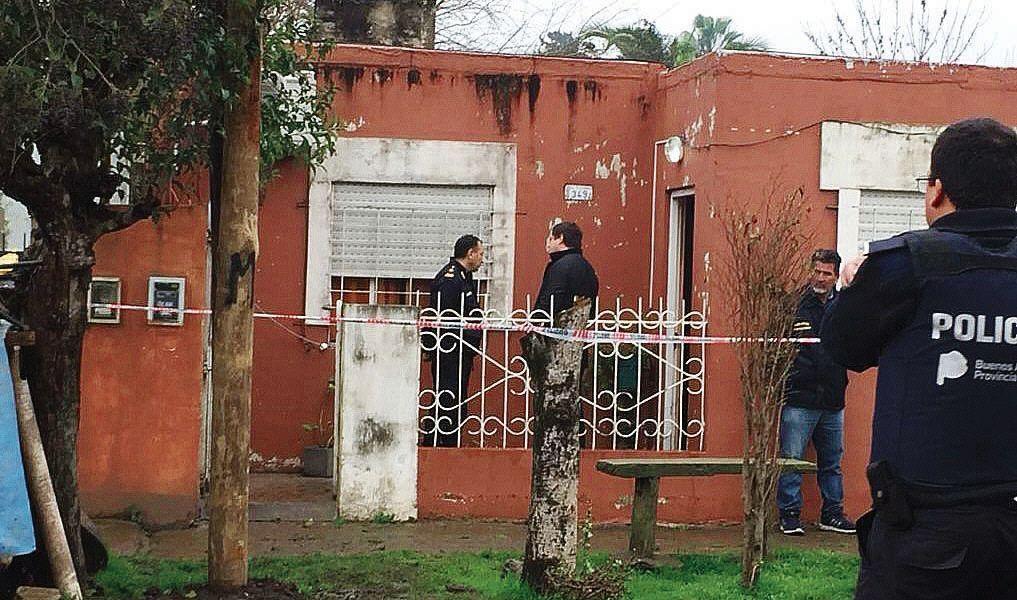 dLa vivienda del barrio Santa Rosa en la que se produjo la tragedia.