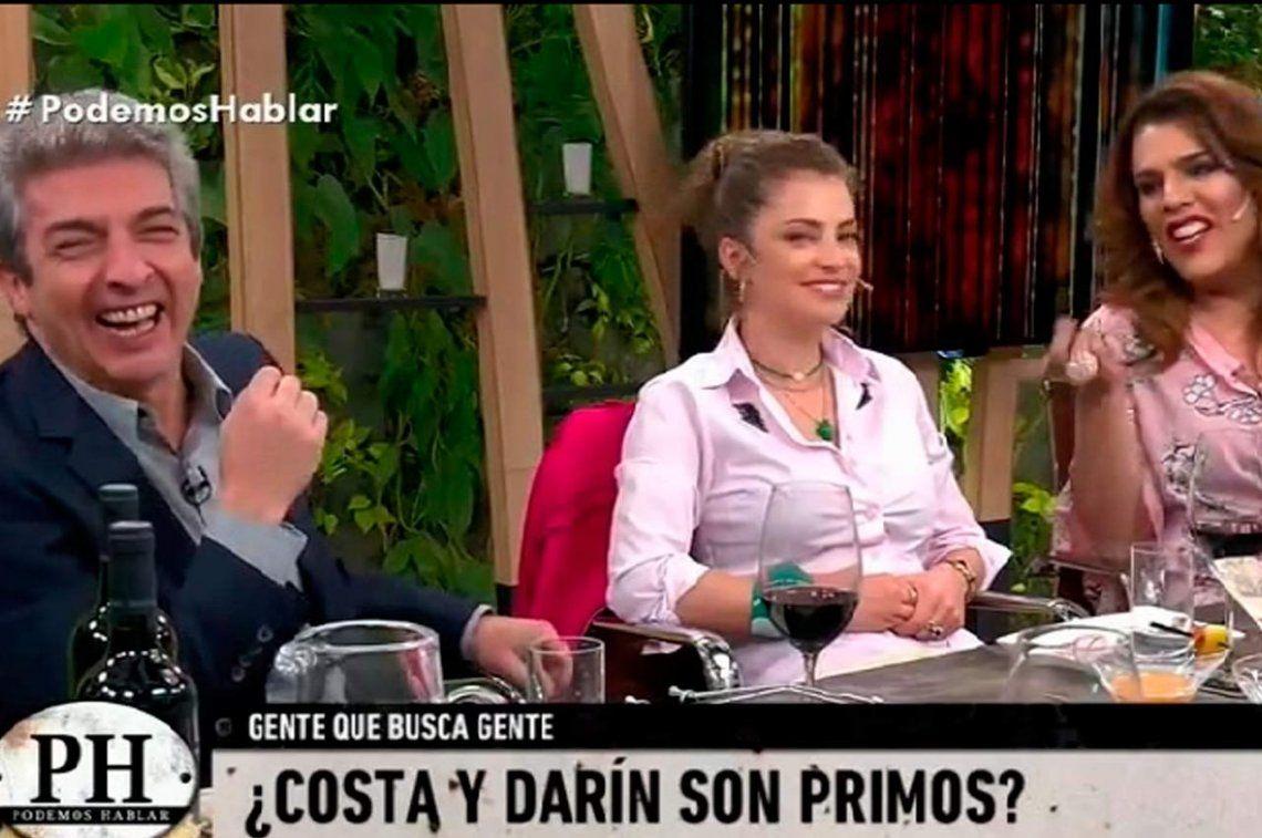 Ricardo Darín y Gonzalo Costa se enteraron que son primos en la mesa de PH