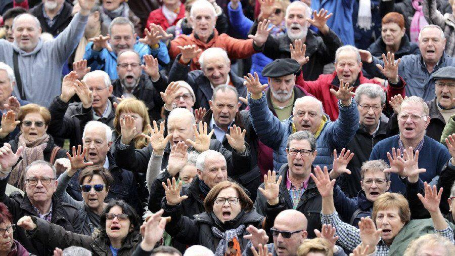 Jubilados de Avellaneda en contra de presión municipal