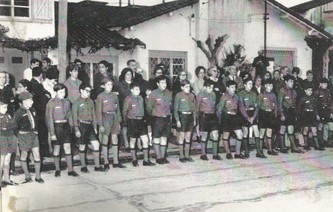 El 3 de agosto de 1968 se incorporaban oficialmente al Moviminto Scout.