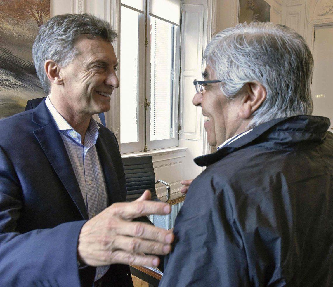 Macri y Moyano le ponen quinta a fondo a su pelea