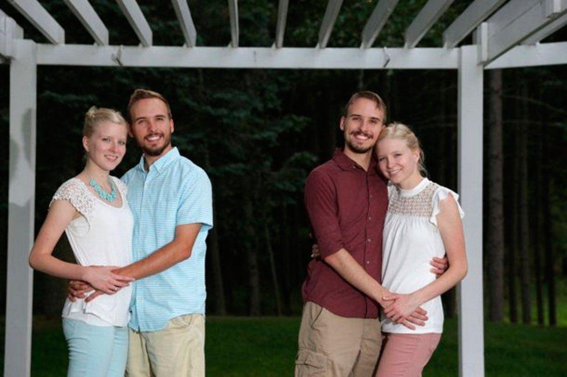 Los hermanos sean unidos: dos parejas de gemelos se casan... ¡y se van a vivir juntos!
