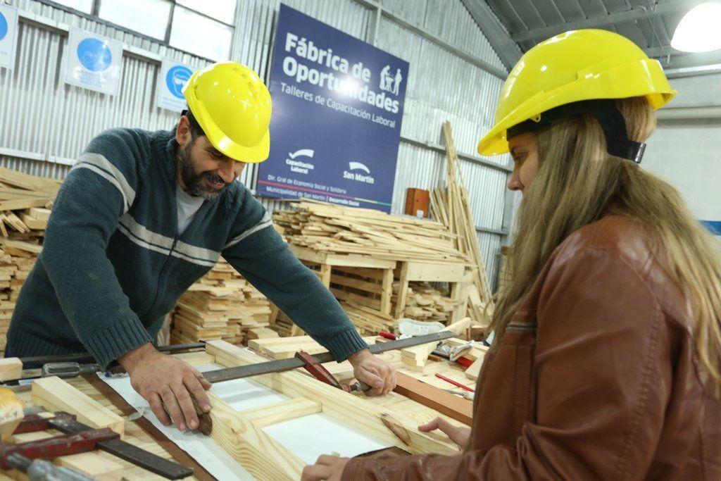 San Martín: ofrecen 42 cursos gratuitos de formación laboral