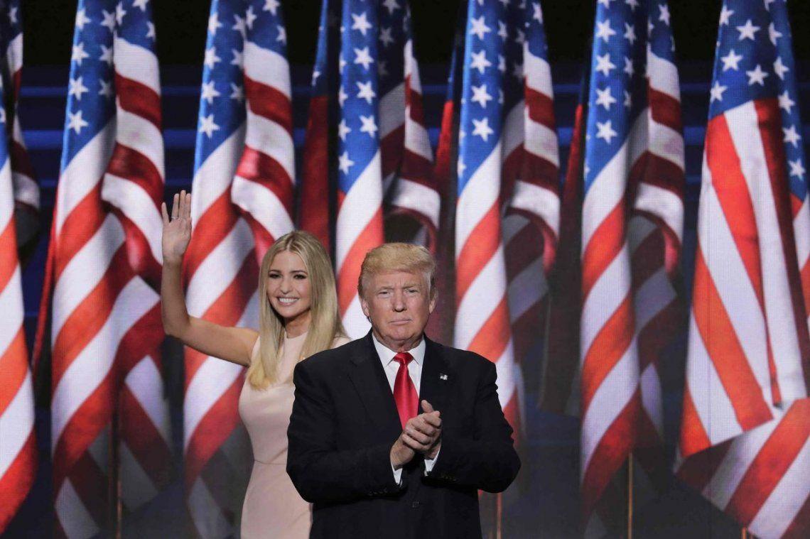 Ivanka Trump se distancia sutilmente de su padre