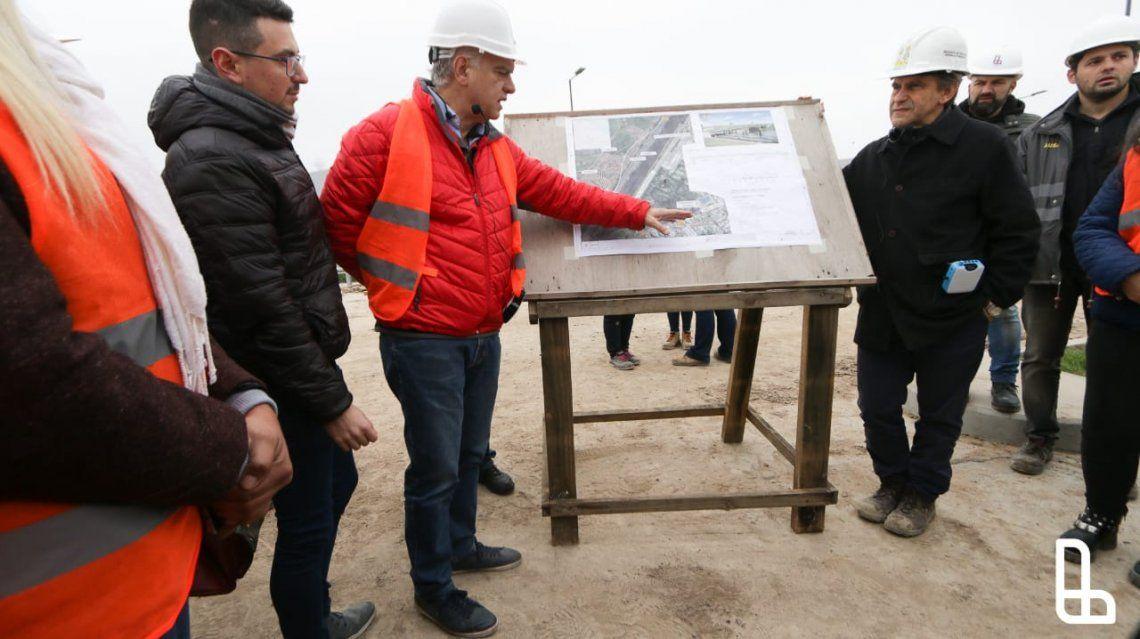 Etapa final de obras del puente que unirá Lanús con CABA