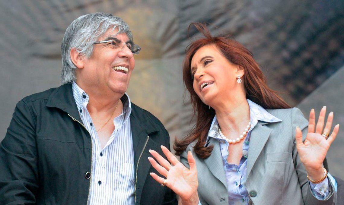 Cristina Kirchner le dijo a Moyano que va a esforzarse para unir a los sectores populares