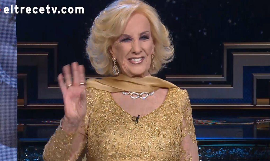 Mirtha Legrand festejó 50 años de televisión con Adrián Suar, Martín Bossi, Diego Torres y Ricardo Darín