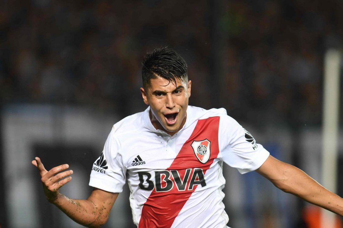 Palacios comienza a ganarle la pulseada a Enzo Pérez