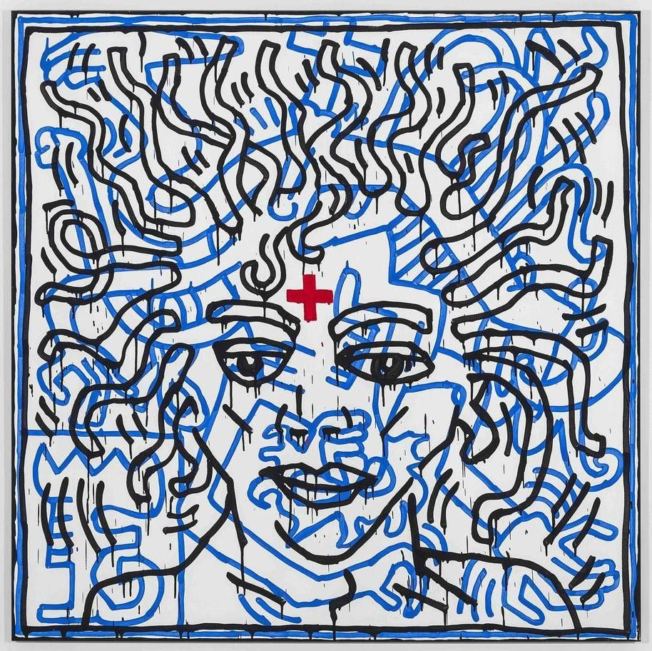 Untitled por Keith Haring 1984.