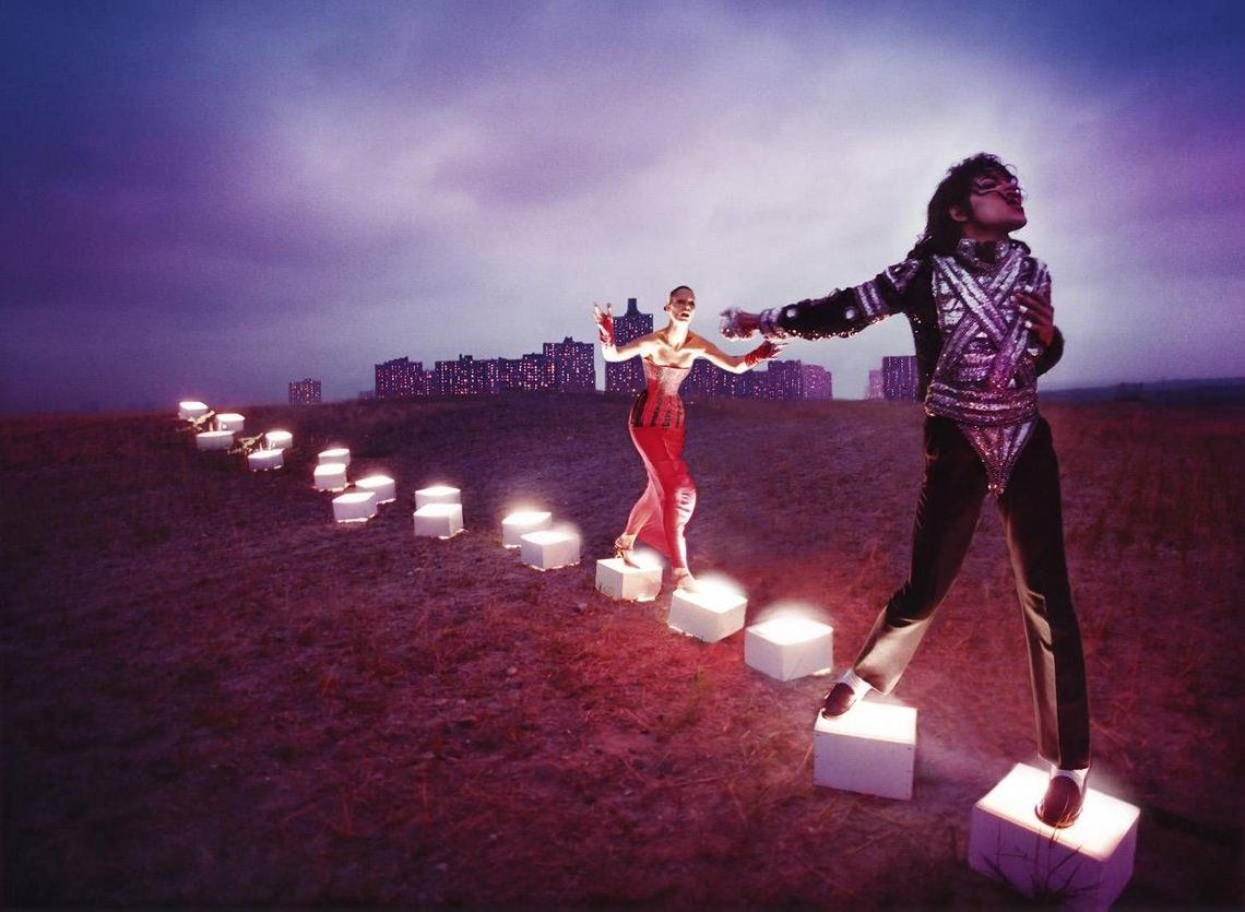 An Illuminating Path por David LaChapelle 1998.