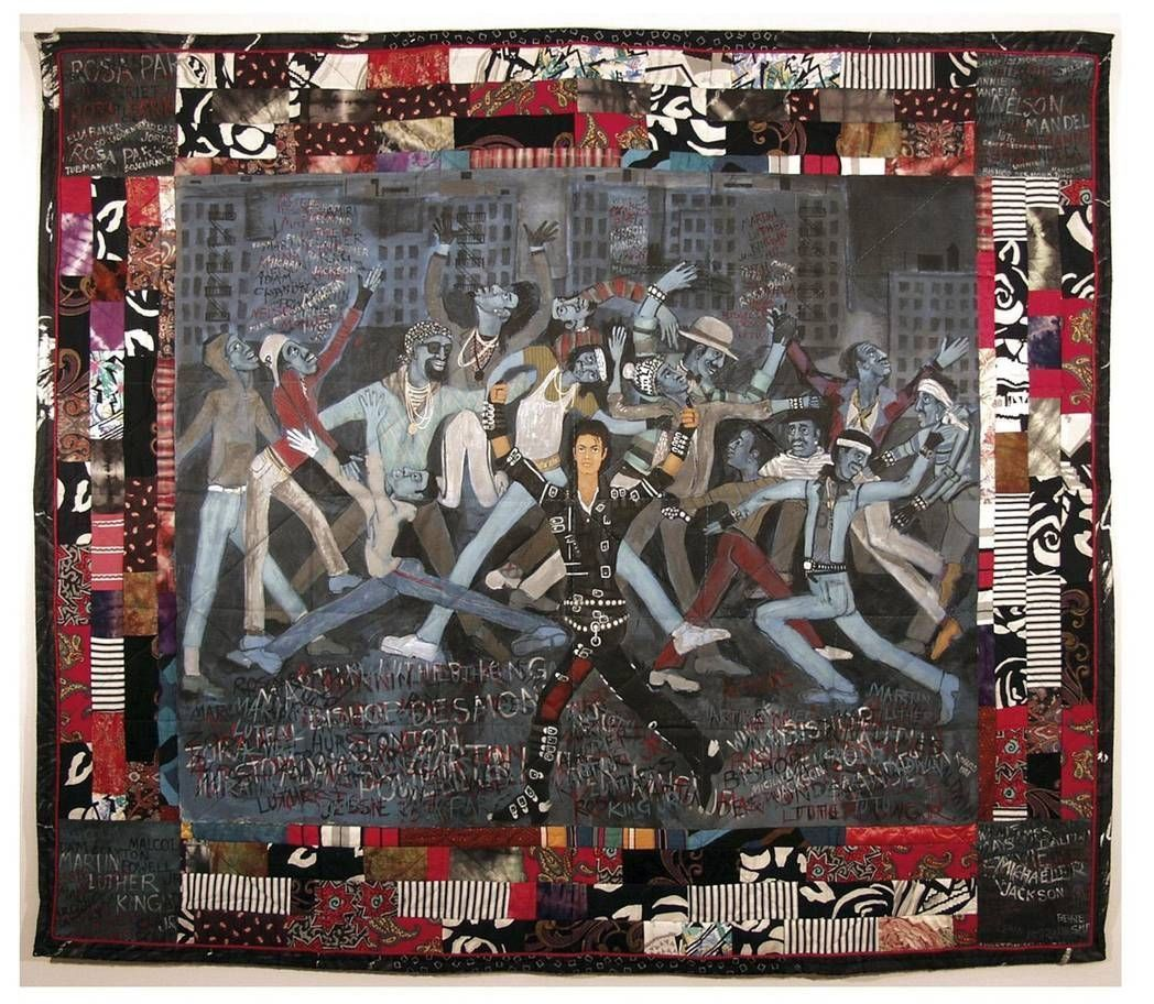Whos Bad? por Faith Ringgold 1998.