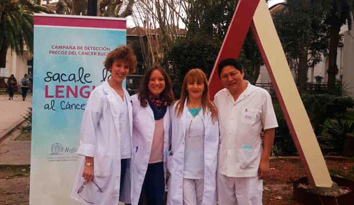 Campaña en el Roffo para visibilizar el cáncer bucal