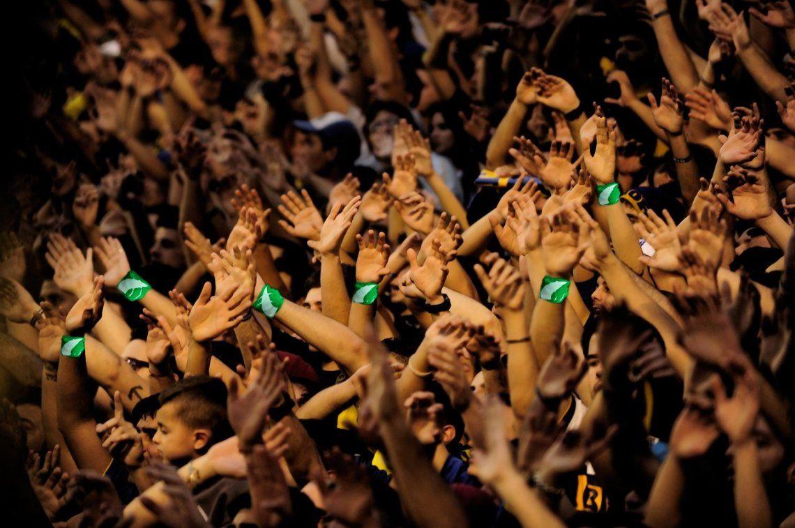 Quiero la Libertadores y el aborto legal: hinchas de Boca marcharán de la Bombonera al Congreso