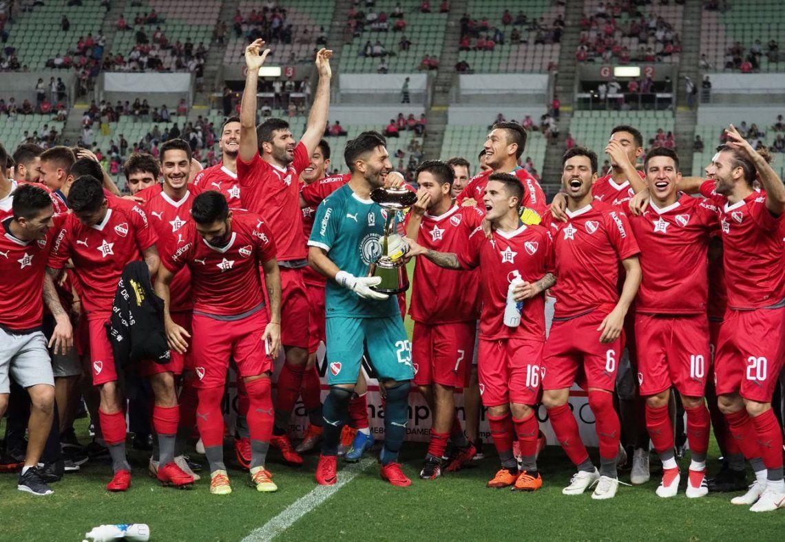 Independiente venció a Cerezo Osaka y es campeón de la Suruga Bank