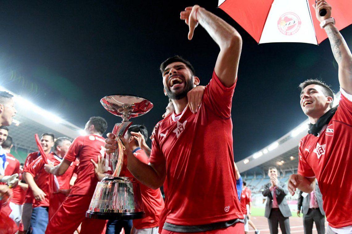 Independiente y la Copa que le faltaba