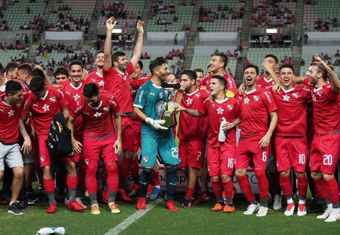 Independiente campeón en Japón, en fotos