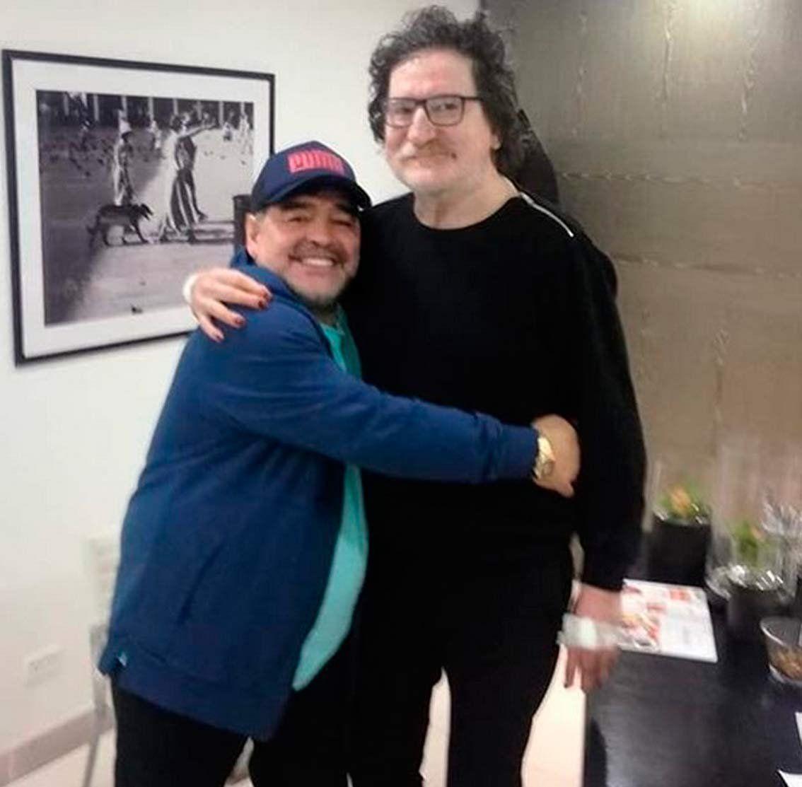 Diego Maradona, Charly García y una reunión ortomolecular