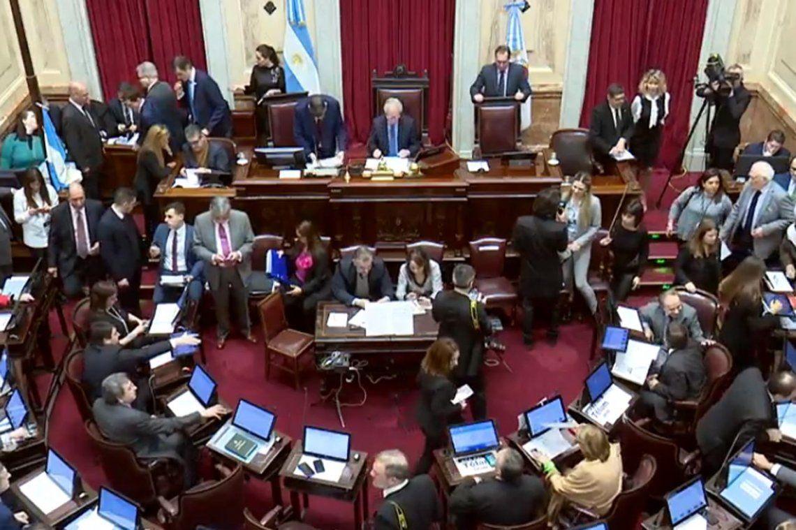 Aborto legal: la lista de oradores en el Senado
