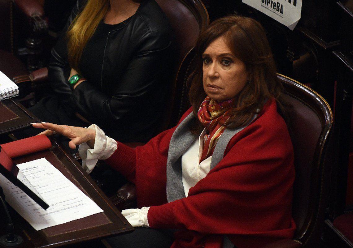 Cristina Kirchner les pidió a los militantes que no vayan a Comodoro Py