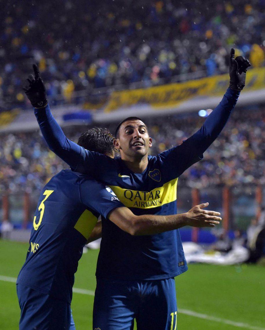 El triunfo de Boca ante Libertad, en fotos