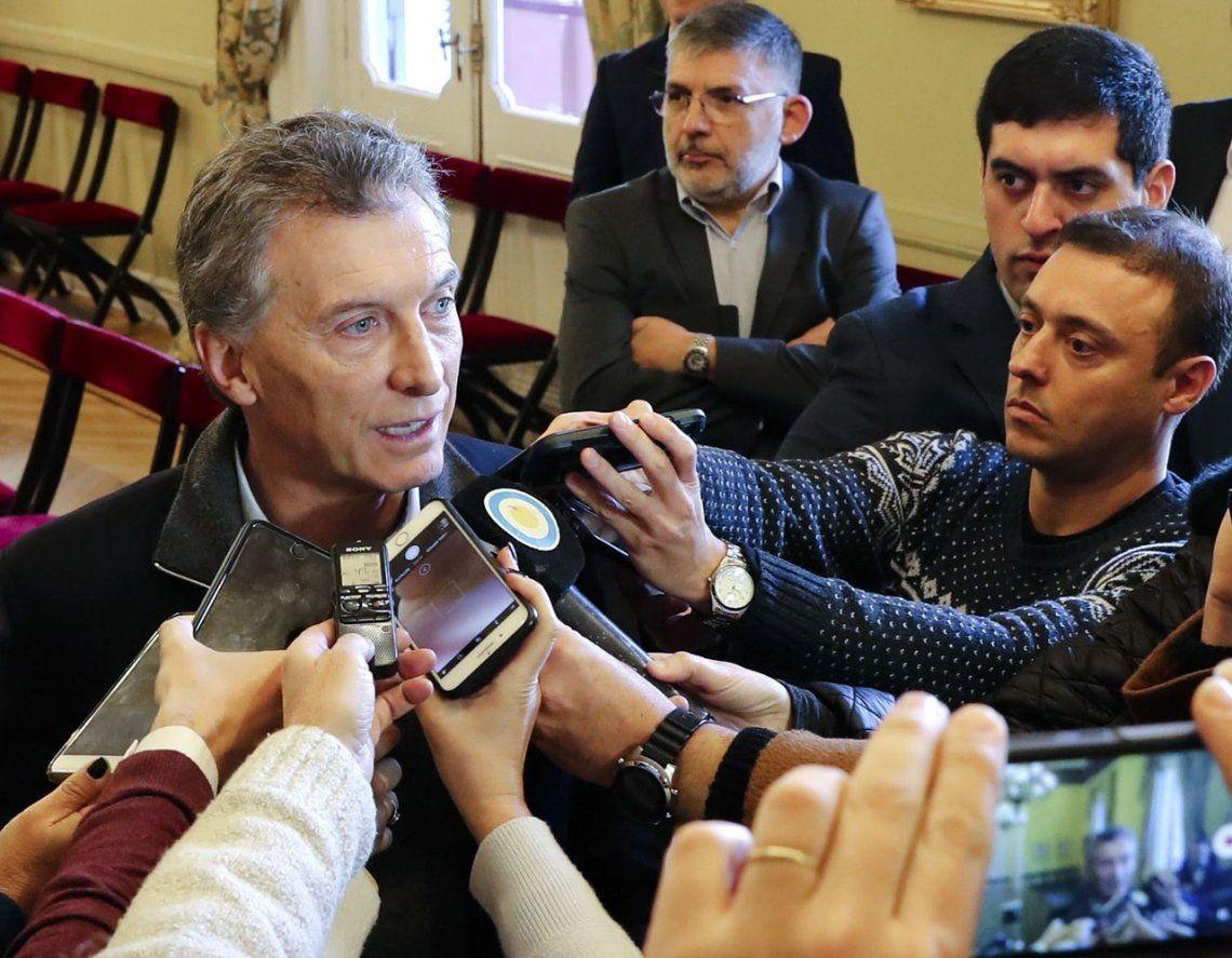 Macri, tras el rechazo a la legalización del aborto: No hay que enojarse y hay que tratar de convivir en paz