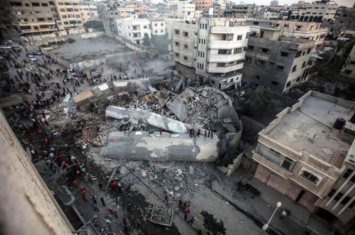 Nuevos ataques israelíes contra Gaza tras efímera pausa
