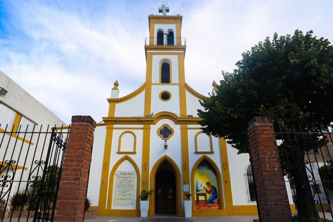 Se robaron una imagen de San Cayetano de una parroquia