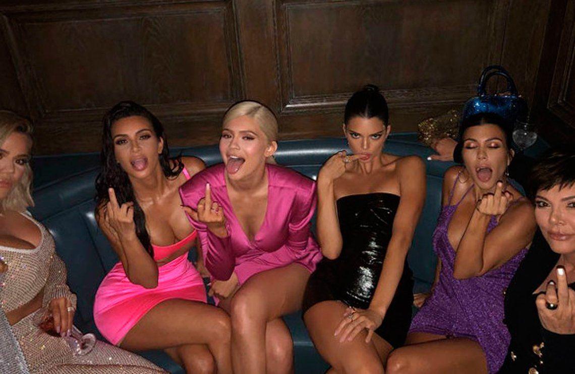 El cumple hot de Kylie Jenner, la hermana de Kim Kardashian