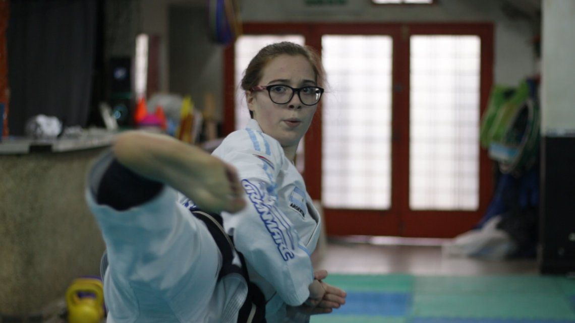 Valentina Bersanini representará a Lanús en el Campeonato de Taekwondo