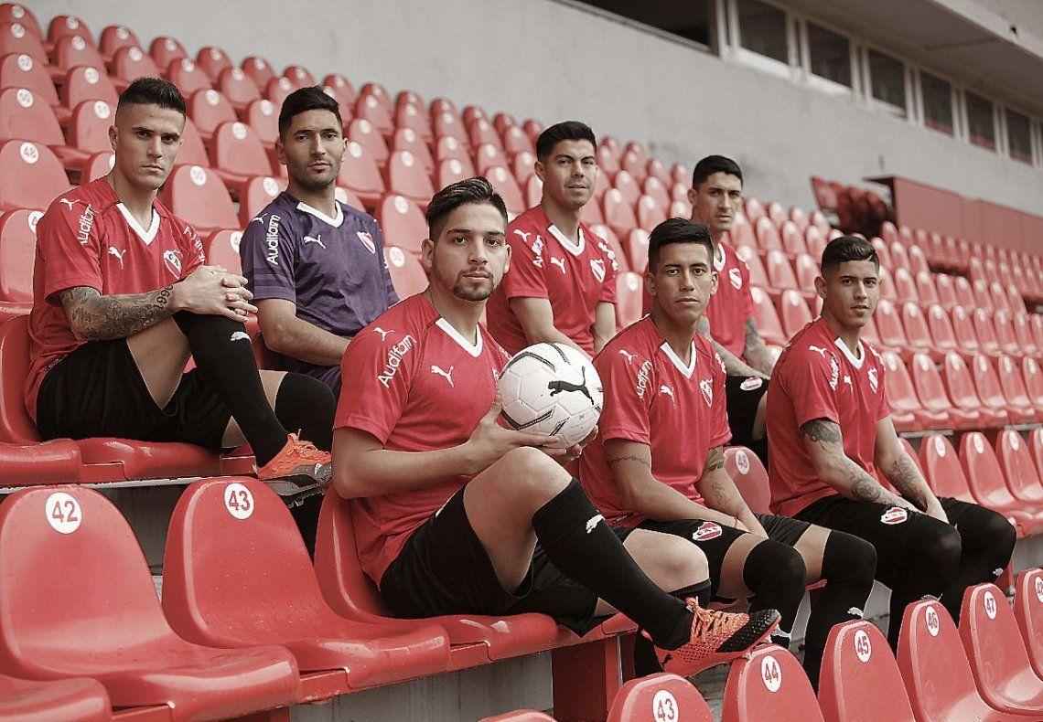 El Rojo se luce con la nueva pilcha para la temporada 2018/19.