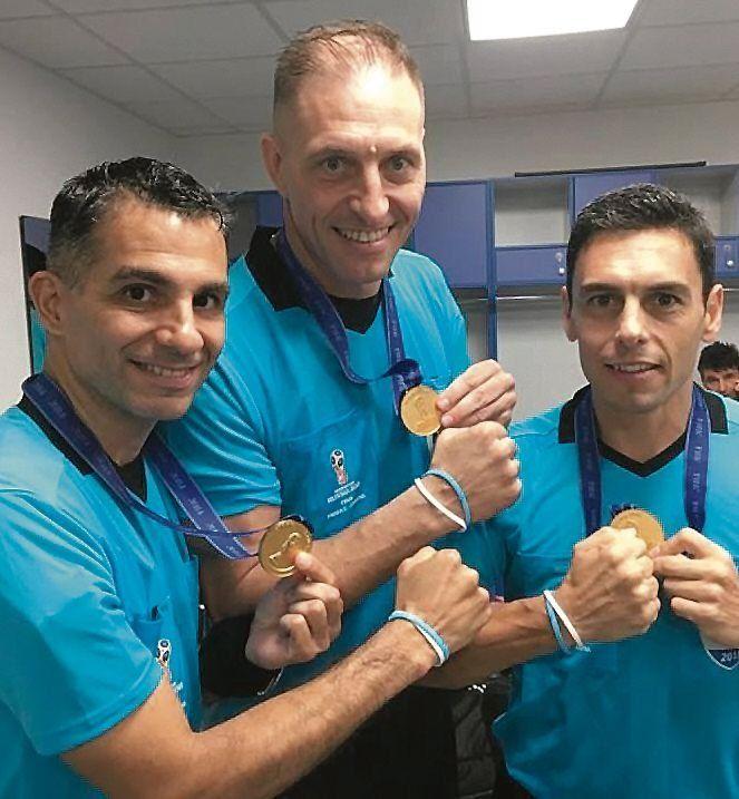 Los árbitros  para la Superliga vuelven al bolillero