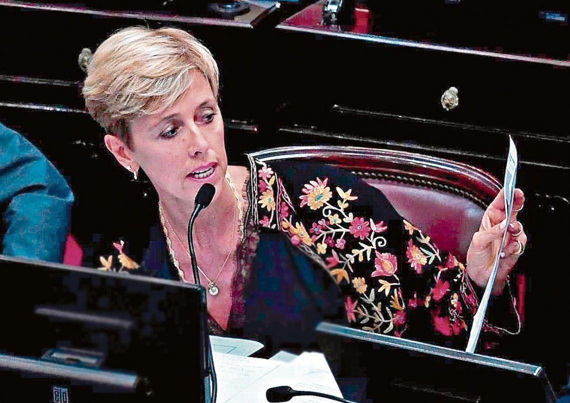 """dGarcía Larraburu cargó contra el gobierno por haber lanzado este debate """"con una total liviandad""""."""