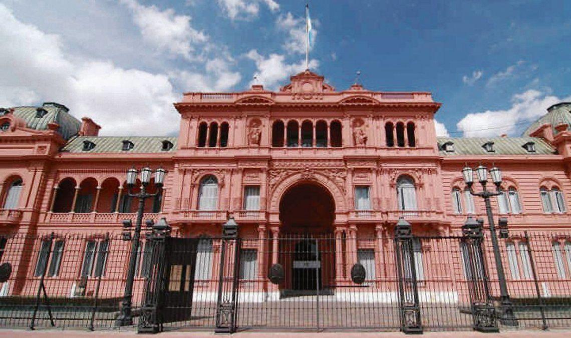 dLa Casa Rosada